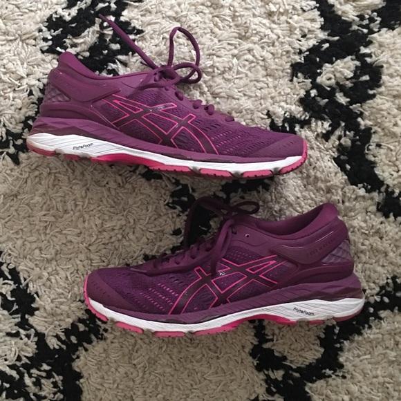 ASICS Gel Kayano 24 Running Shoes 9 Purple